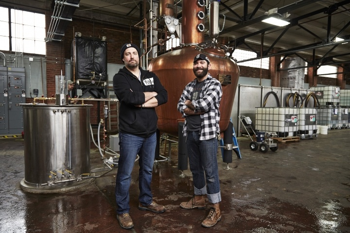 Two James Distillers