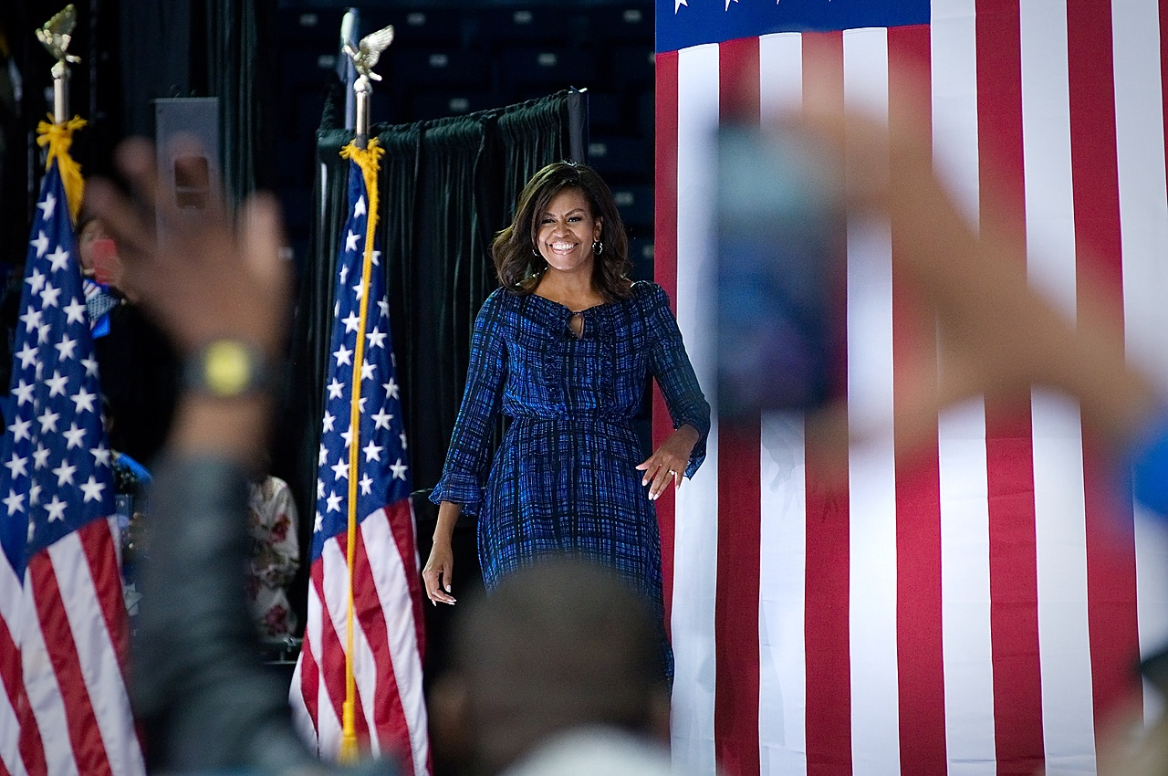US ELECTIONS - Michelle Obama Rally