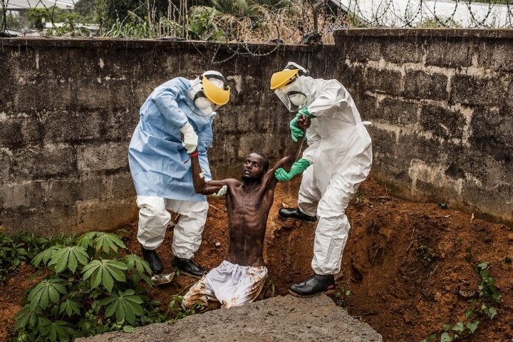 Ebola Virus for National Geographic