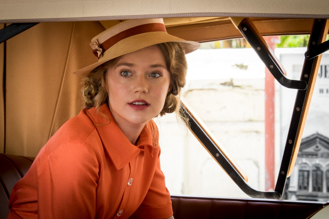 Alice Whelan played by Jemima West. Indian Summers