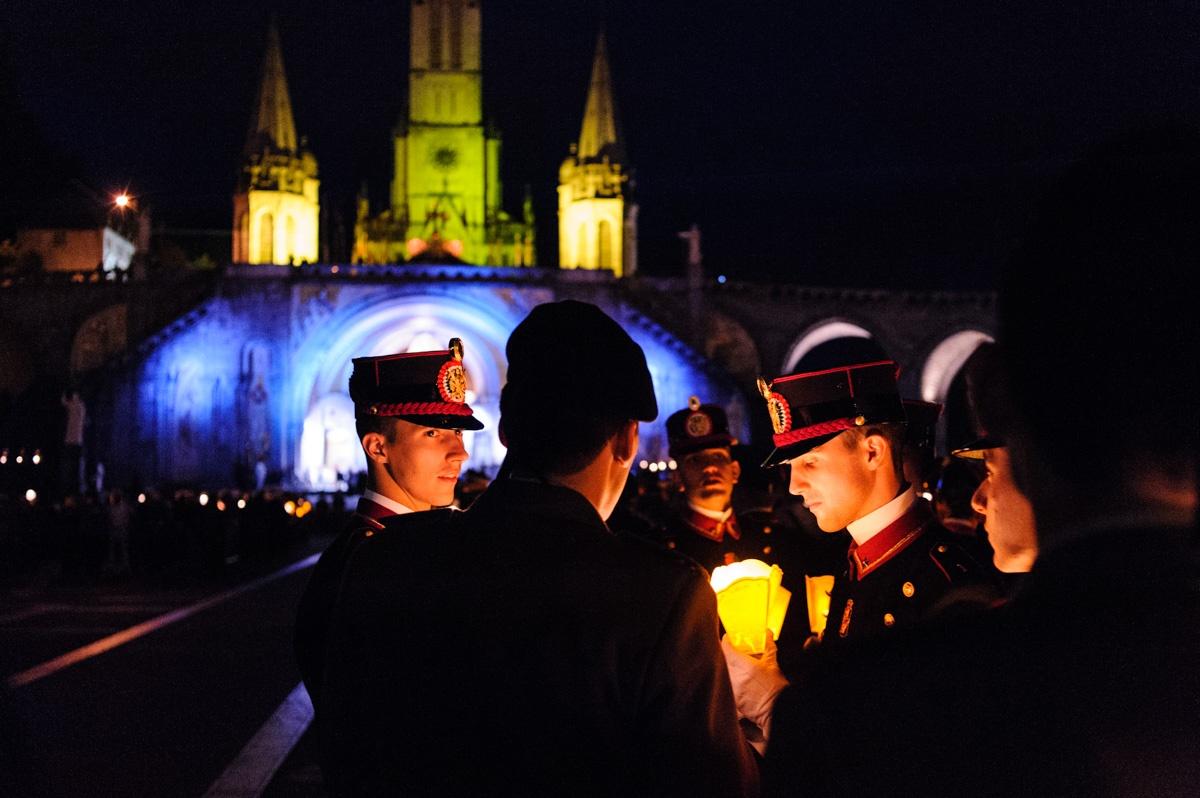 Pélerinage Militaire à Lourdes