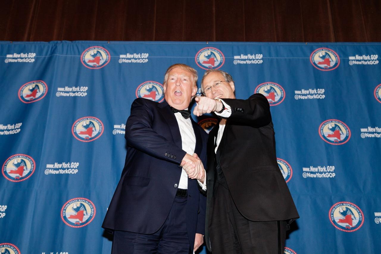 Donald Trump at the GOP Gala