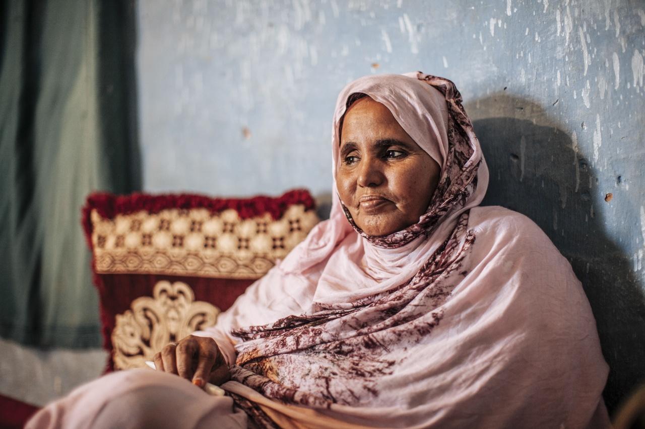 Saharawi Refugee. Tindoof 2011
