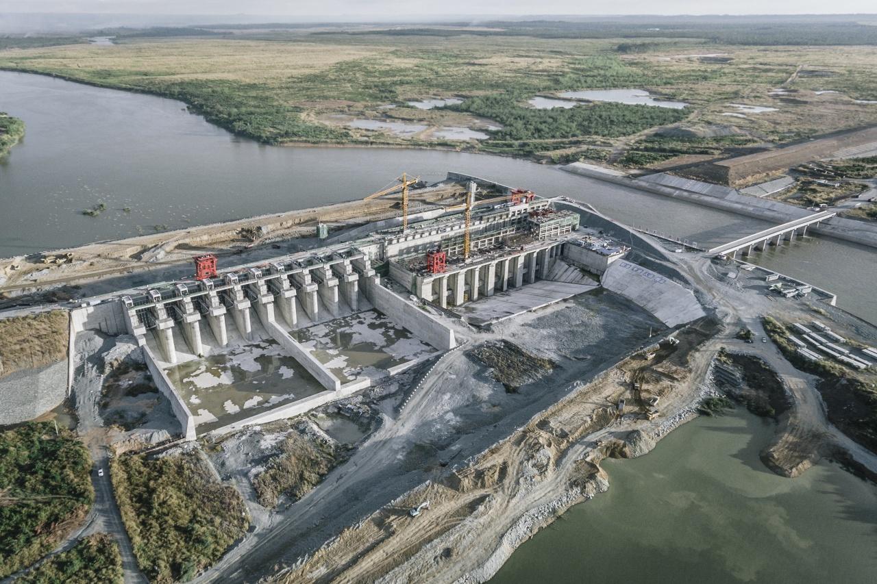 The Lower Sesan II dam. Cambodia 2017.