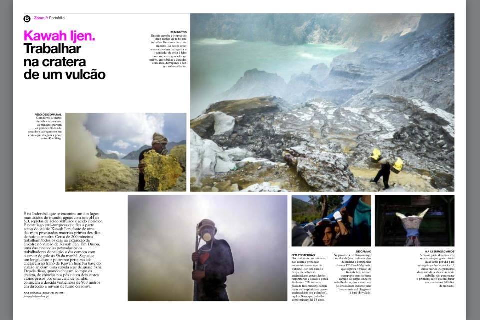 Sulfur miners - Indosesia