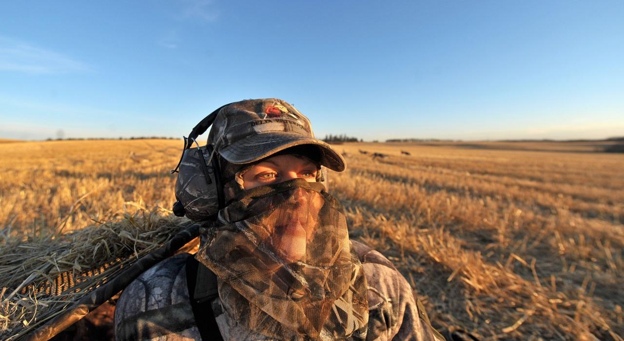 Alberta Female Hunter