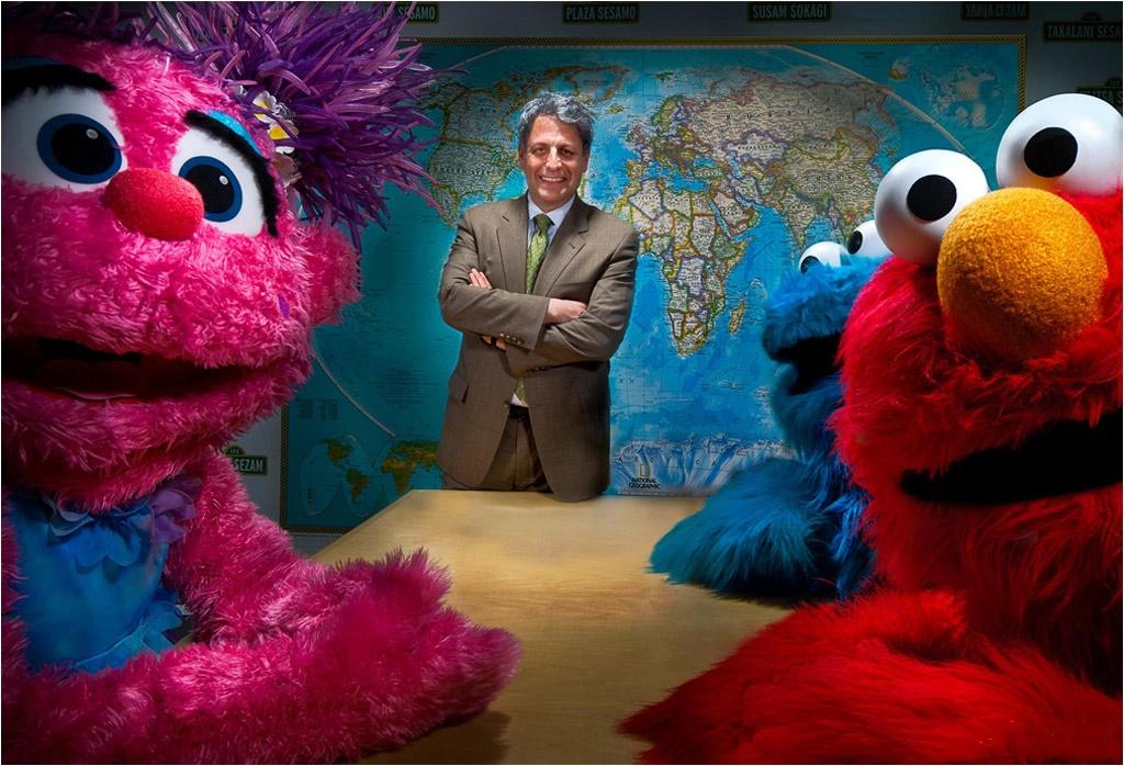 Sesame Street CEO Gary Knell