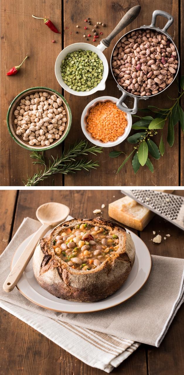 legumes chowder