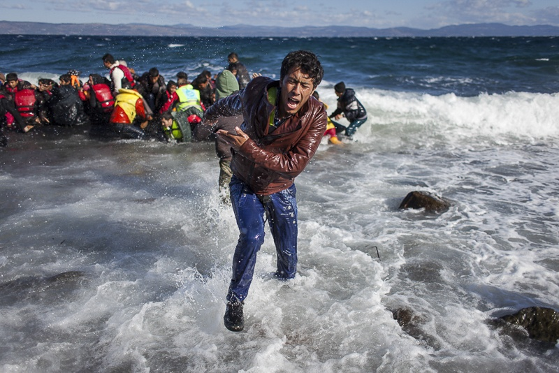 Lesbos, first step to Europe