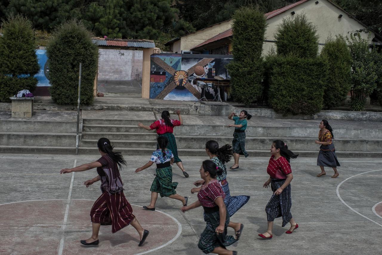 Mayans, yes Mayans, love basketball