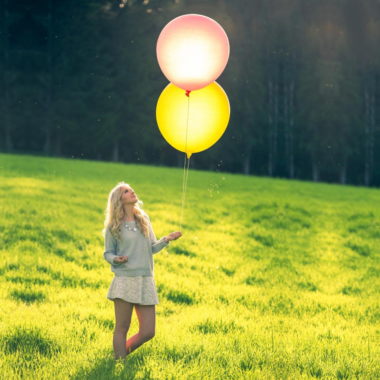 Balloon portrait