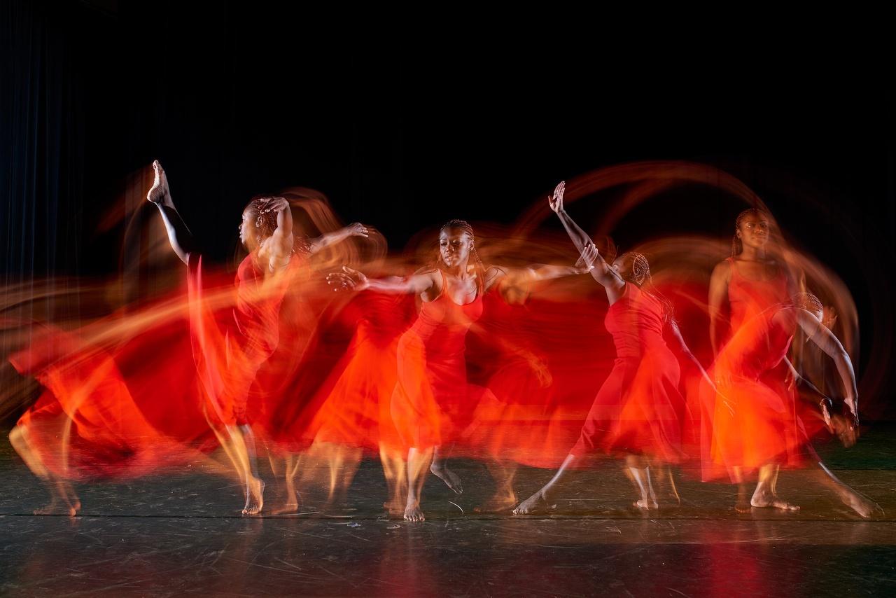 Dancer Christal Brown