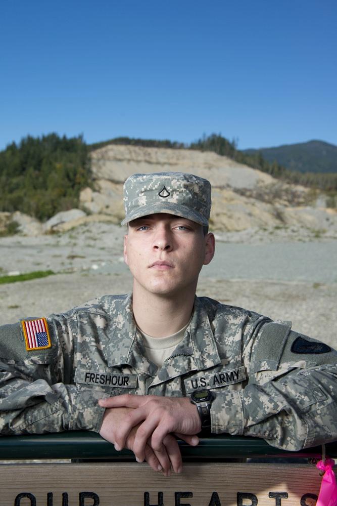 Washington National Guard PFC Jeffrey Freshour