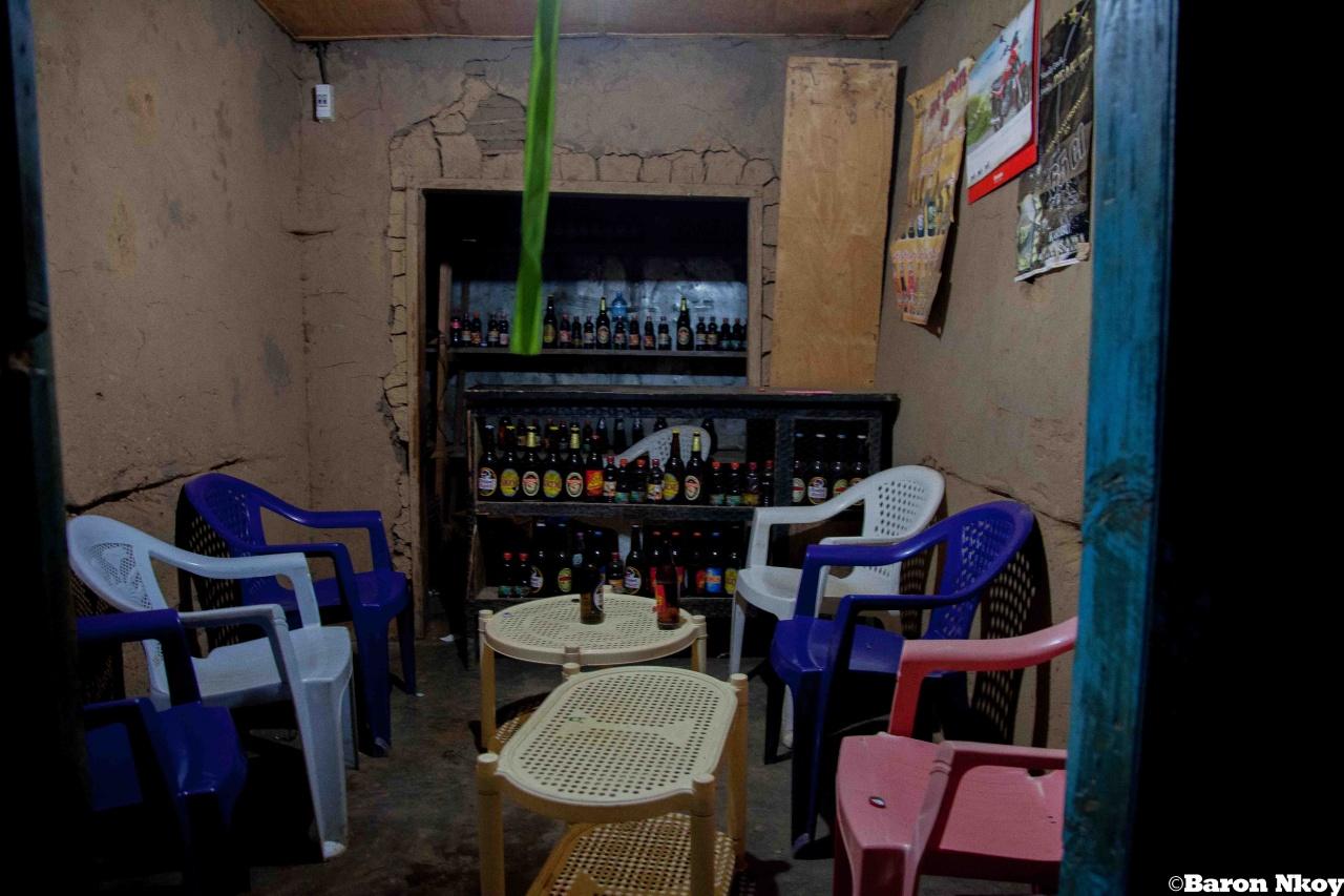 Un bar locale à Kanyabayonga