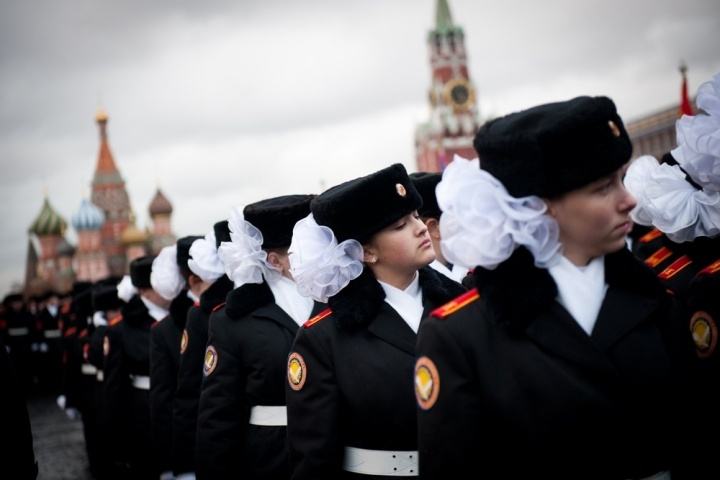 Military boarding school for girls in Moscow