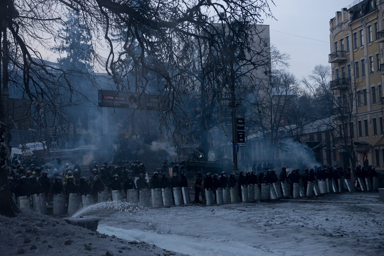 Maidan, Kyiv, Ukraine.