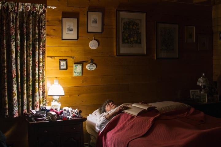 Jane in her bedroom