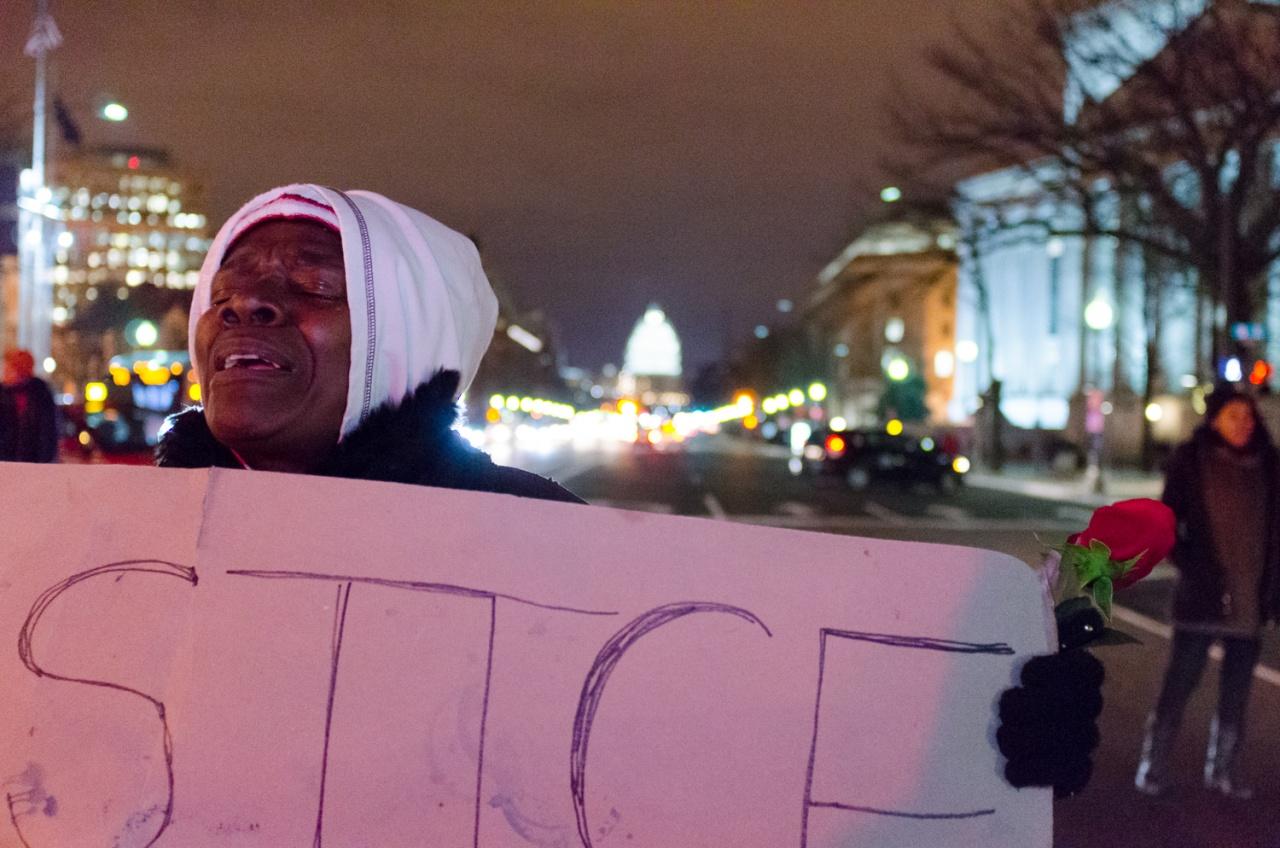 Balck Lives Matter rally, Washington D.C.