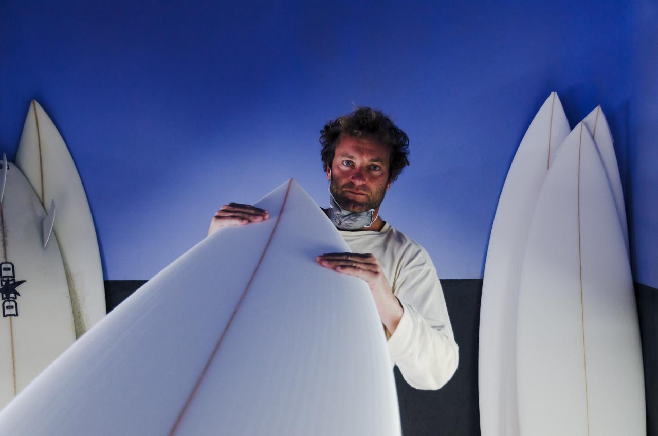 Vern Jackson, Australian sufboard shaper