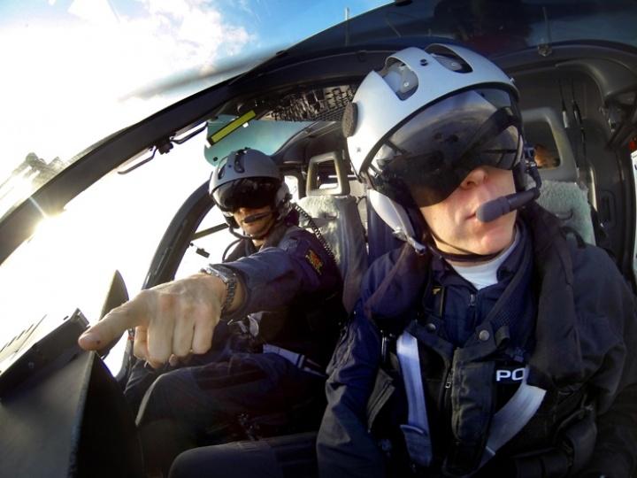 Norwegian police helicopter