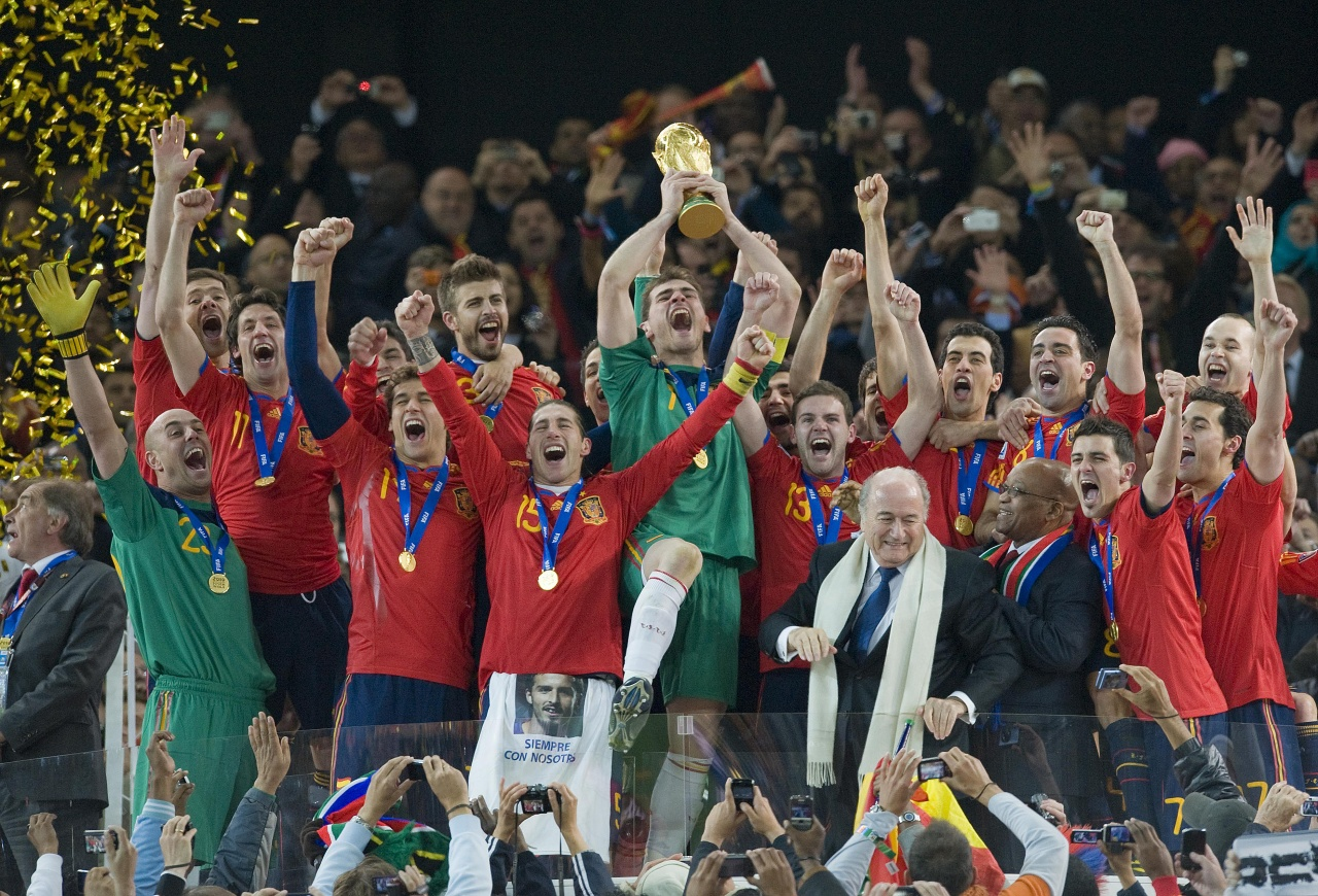 World Champions in South Africa 2010