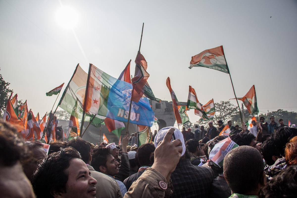 Election rally, Delhi