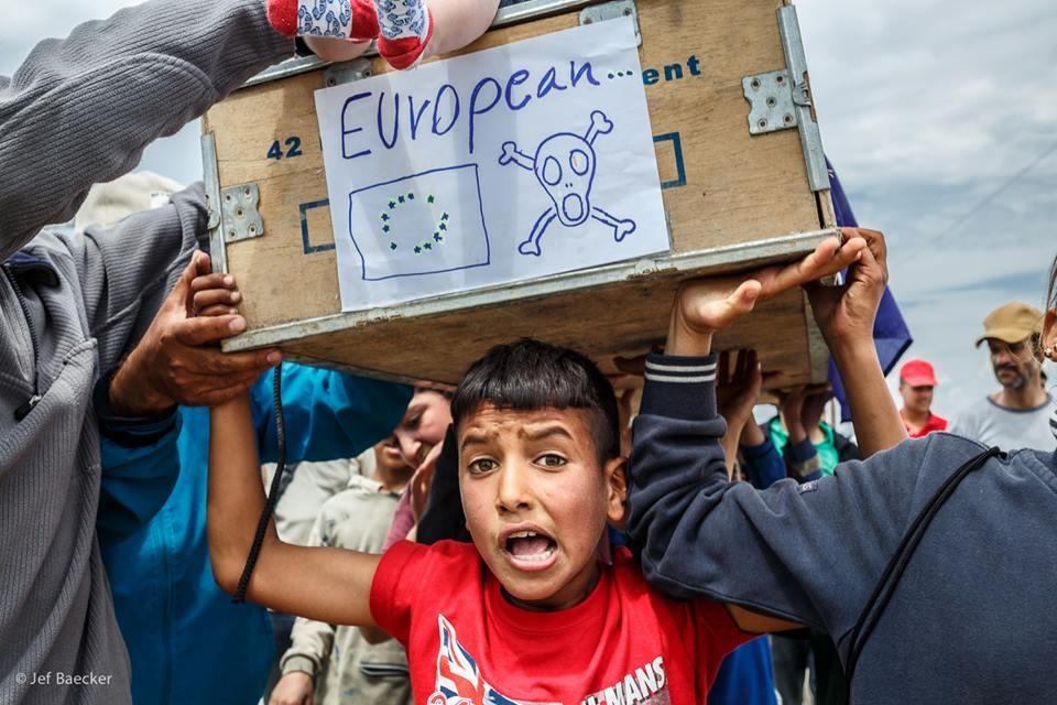 Sur la route des réfugiés
