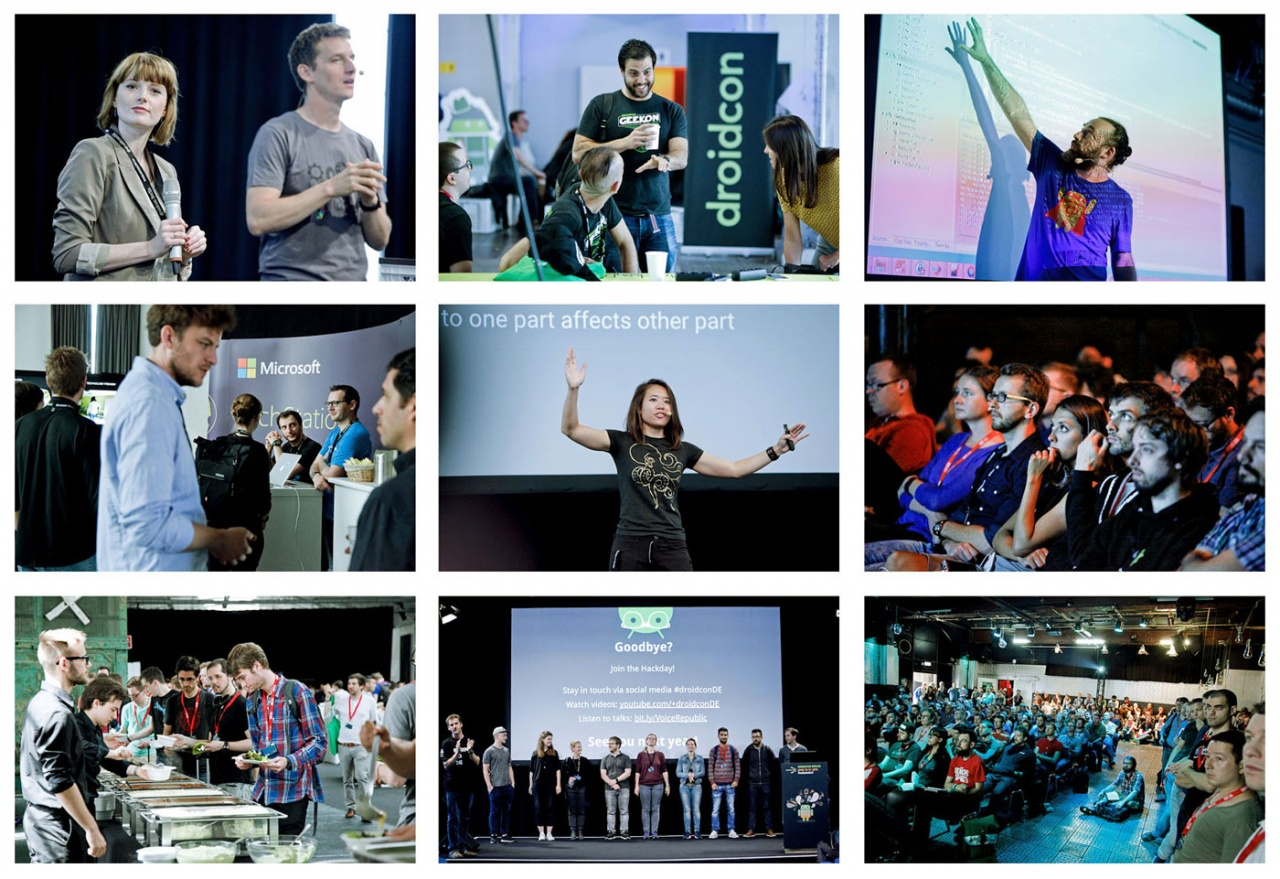 Job: Droidcon global developer conference