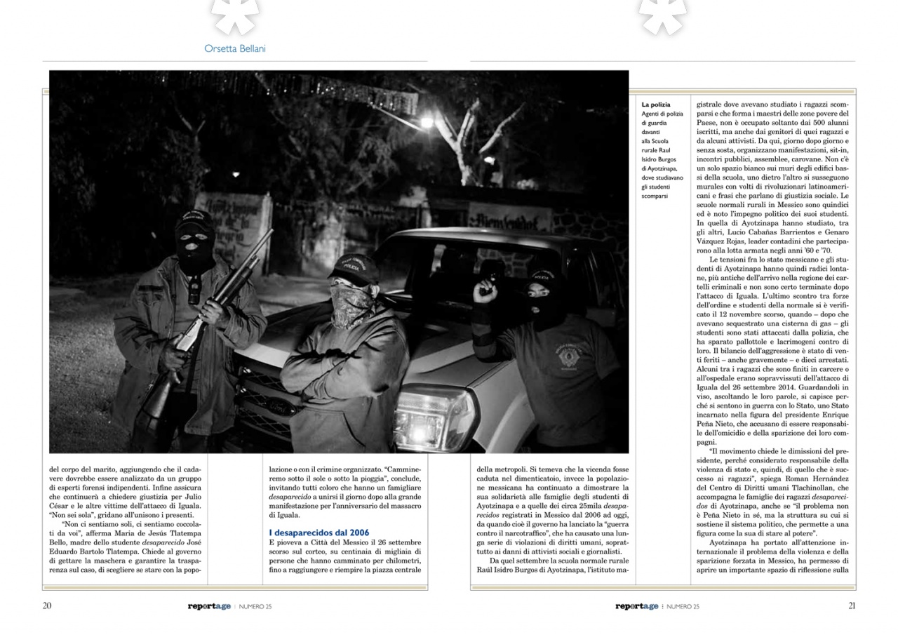 Feature on Il Reportage.