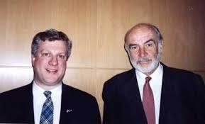 Sir Sean Connery & Harlan D. Whatley