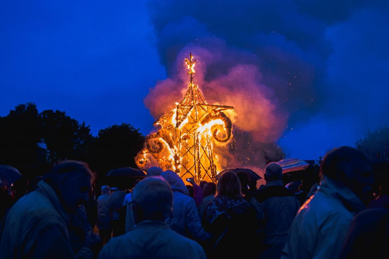 St Jonas bonfire
