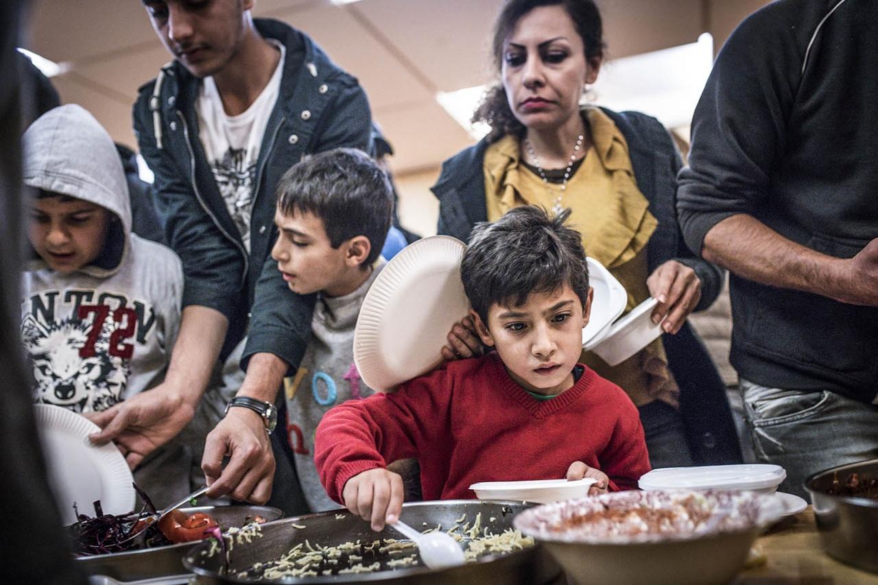 Refugee Home Gatow Berlin