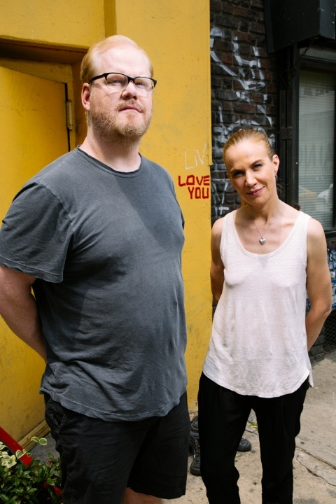 Jim and Jeannie Gaffigan