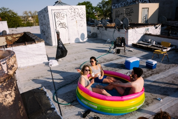 Bushwick Roof Party