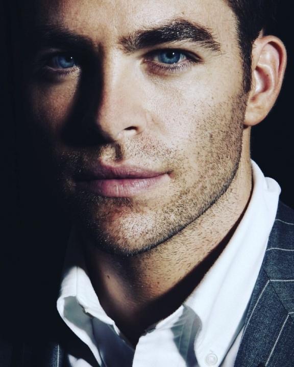 Chris Pine Portrait