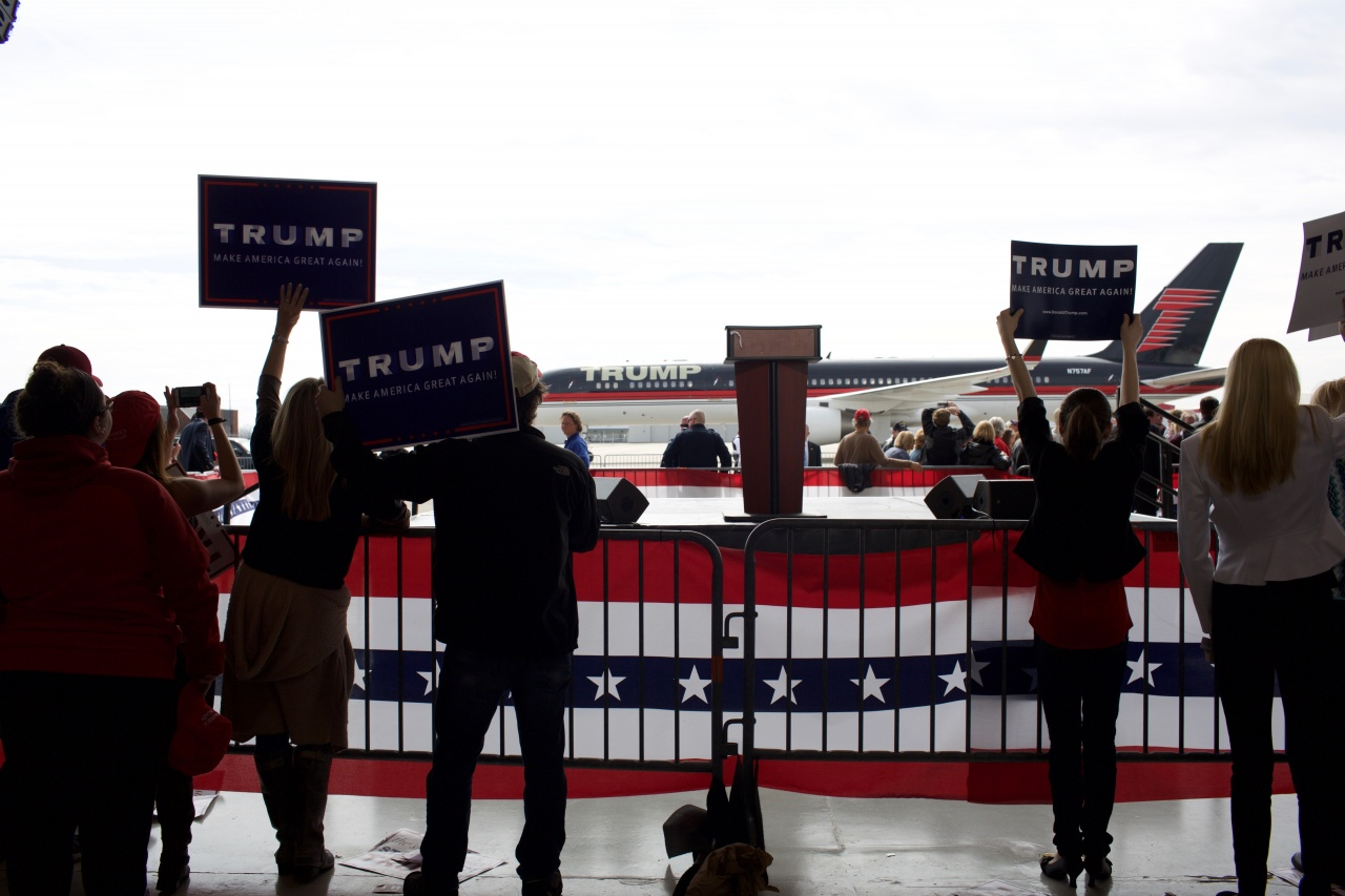 Audience at Trump Rally, Dayton, Ohio