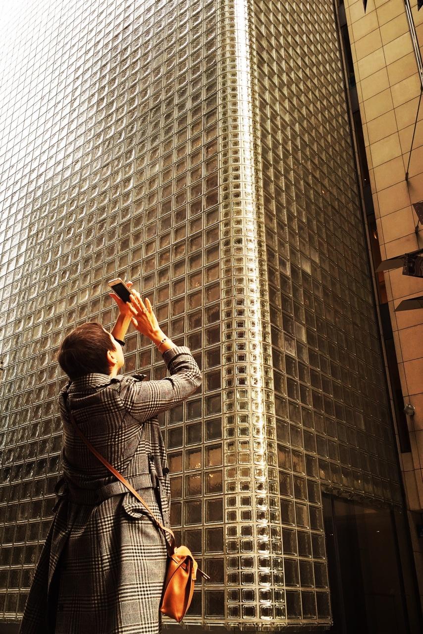 Ginza, Louis Vuitton building.