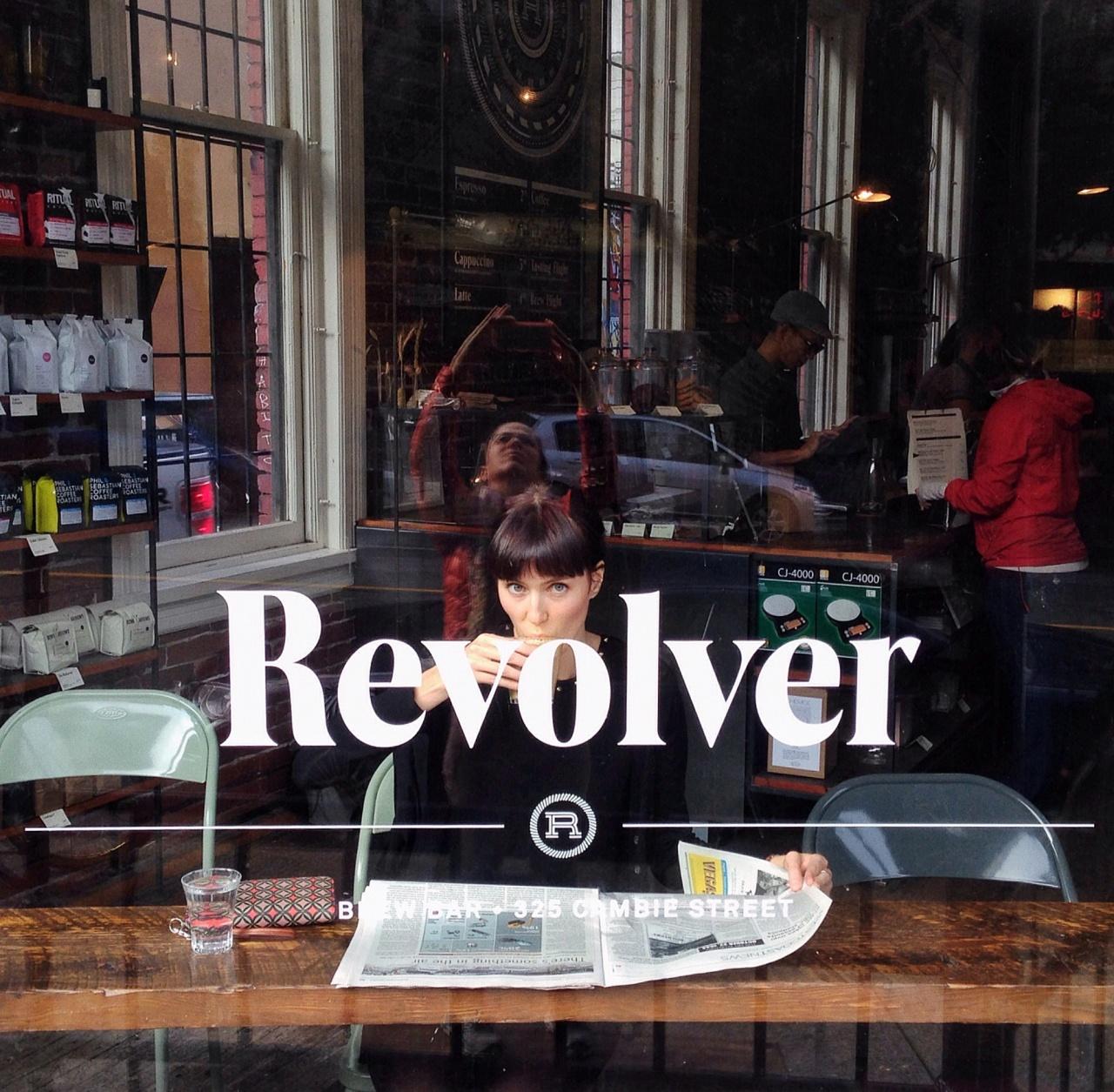 Coffee Shop, Revolver. Vancouver