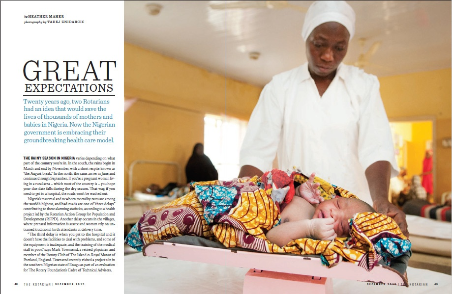 Maternal Health in northern Nigeria for Rotary