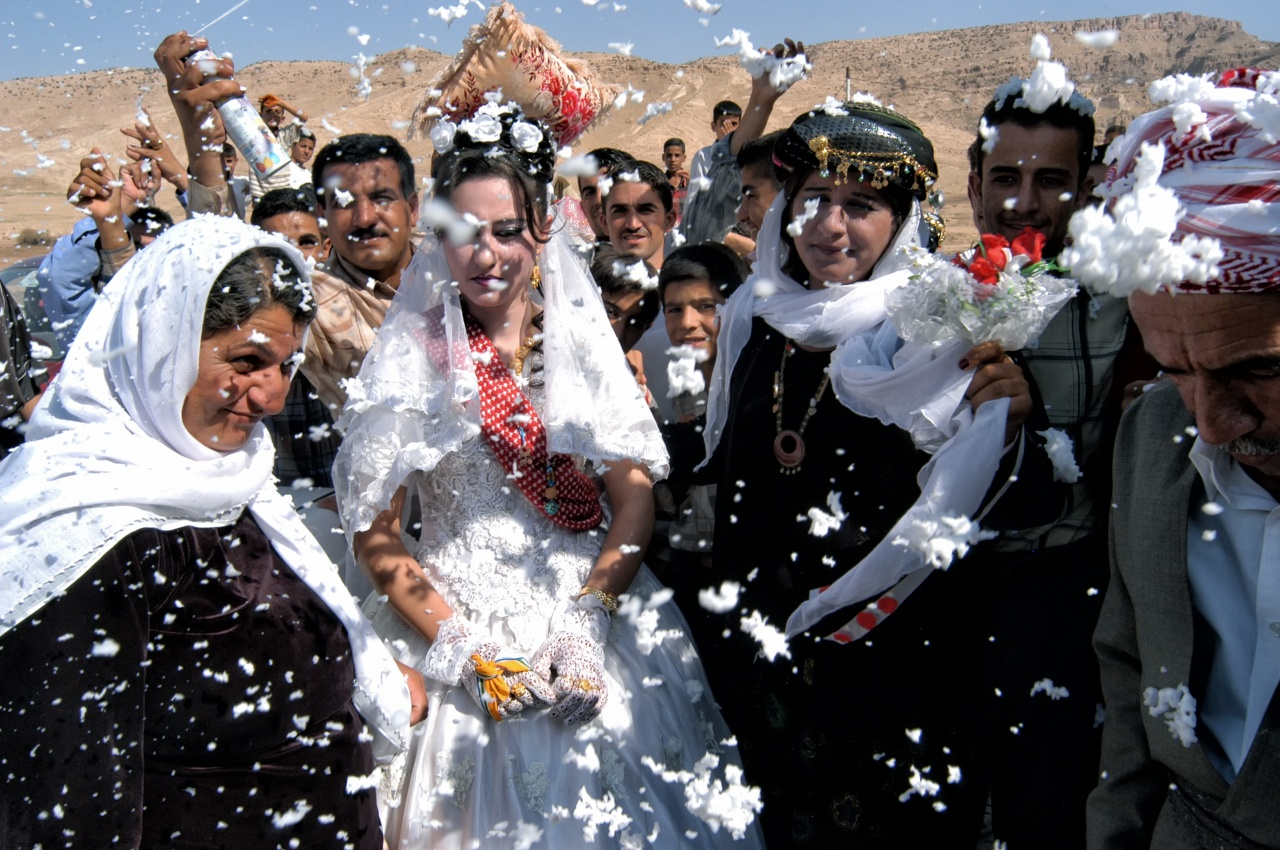 Yazidi Wedding, Iraq