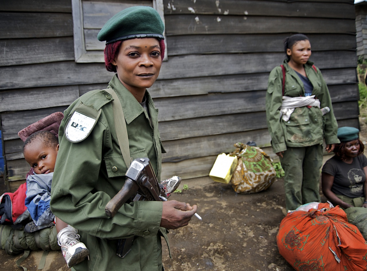 Mother Soldier, DRC