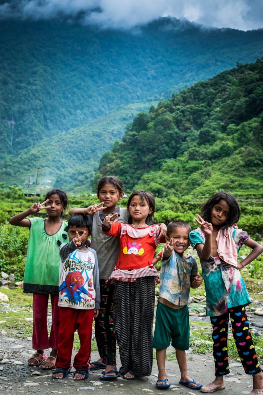Beautiful Kids of Nepal.