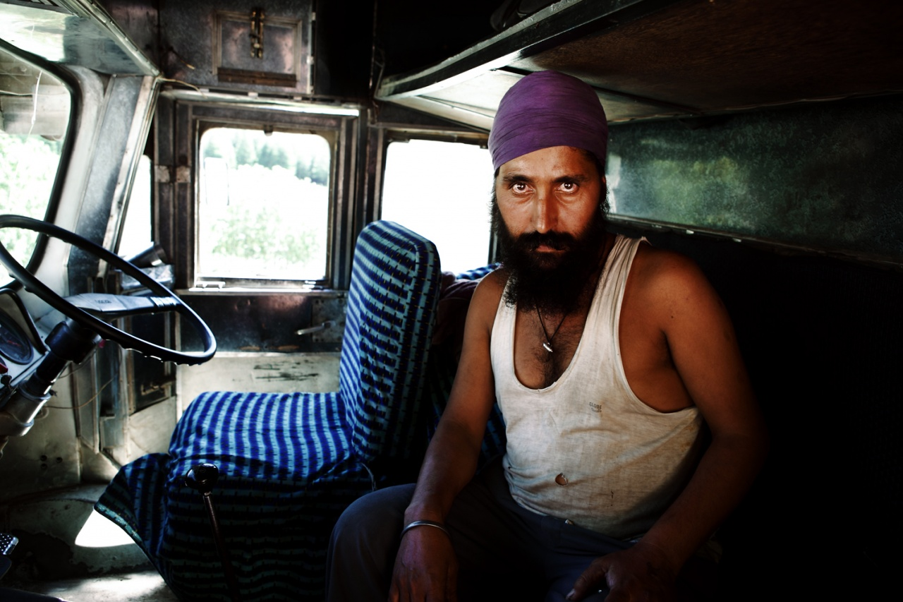 Portrait from the series, Jadugar