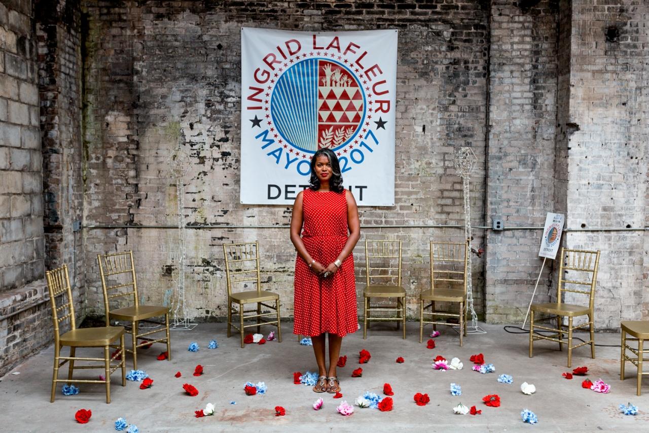 Ingrid LeFleur for Model D Media