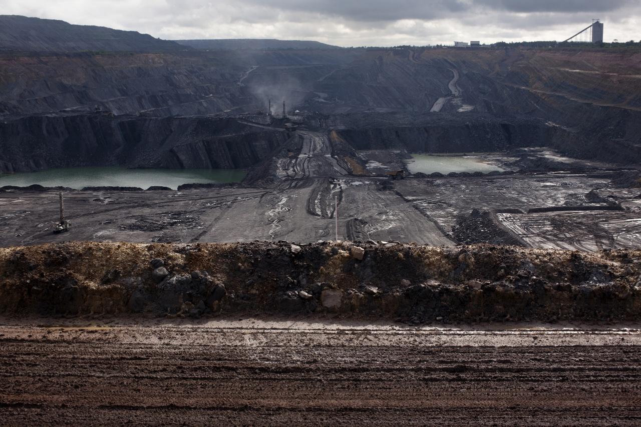 La Francia coal mine