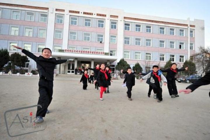 Working in schools in North Korea