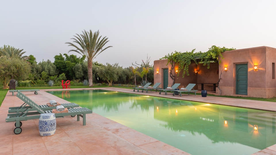 The villas of Marrakech
