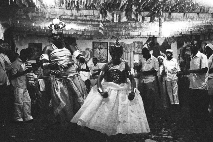 Candomble ritual -Salvador favela, Brazil