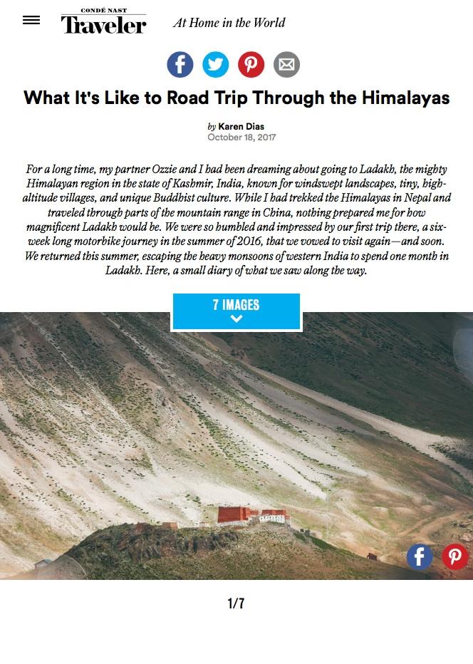 Condé Nast - Travel Feature