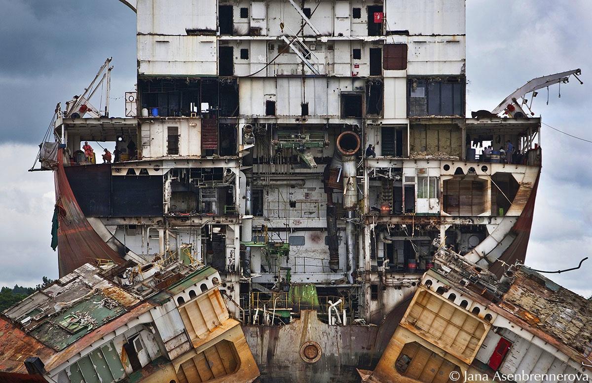 Shipbreaking yards, Chittagong - Bangladesh